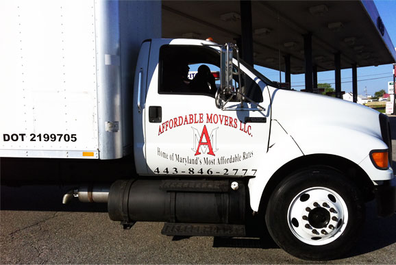 Affordable Movers Moving Truck