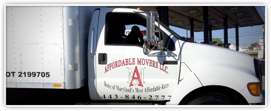Affordable Movers in Baltimore, MD